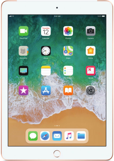 Фото - Планшетный компьютер Apple iPad Cellular 128GB MRM22RK/A Gold