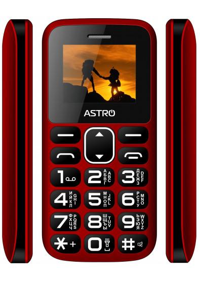 Фото - Мобильный телефон Astro A185 Red