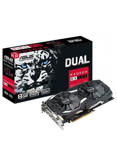 Фото - Видеокарта Asus AMD Radeon RX 580 Dual 8GB GDDR5 256bit (DUAL-RX580-8G)