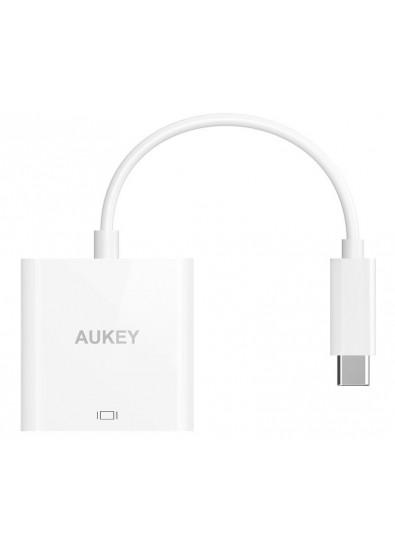Фото - Переходник Aukey CB-C40 USB-C to HDMI (LLT59942)