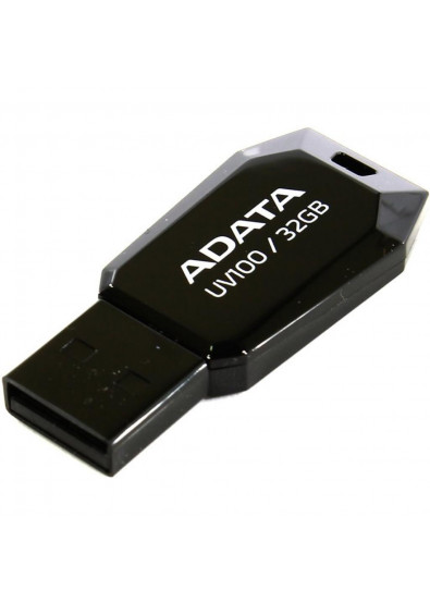 Фото - Флеш USB A-DATA UV100 32GB USB 2.0 Black (AUV100-32G-RBK)