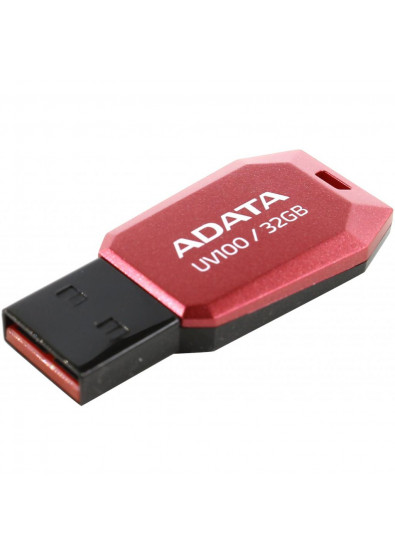 Фото - Флеш USB A-DATA UV100 32GB USB 2.0 Red (AUV100-32G-RRD)