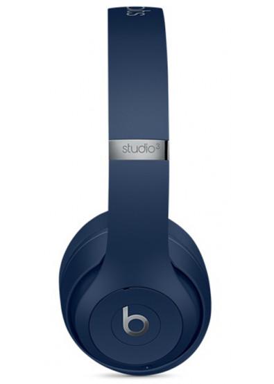 Фото - Наушники накладные беспроводные Beats Studio3 Wireless Headphones - Blue (MQCY2ZM/A)