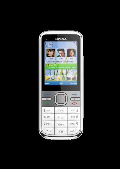 Фото - Смартфон Nokia C5 White