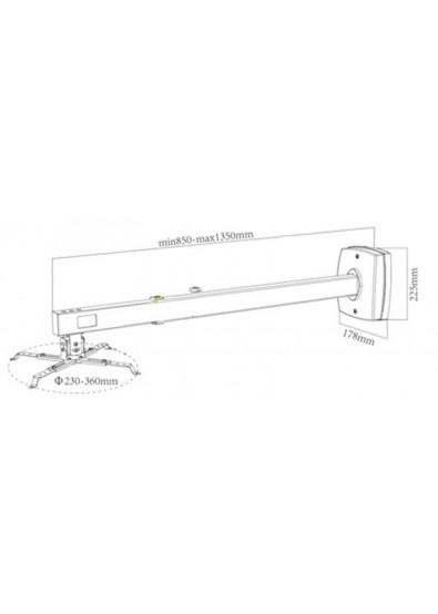 Фото - Крепление для проектора Charmount CT-PRB-8M