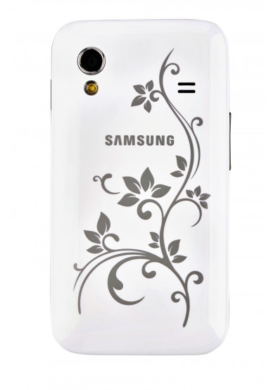 Фото - Смартфон Samsung S 5830 Galaxy Ace White La Fleur