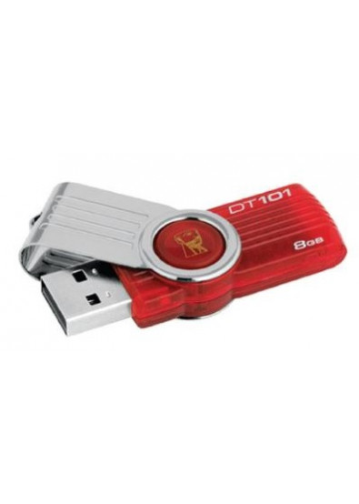 Фото - Флеш USB Kingston DT101G2 8GB USB 2.0 Red (DT101G2/8GB)