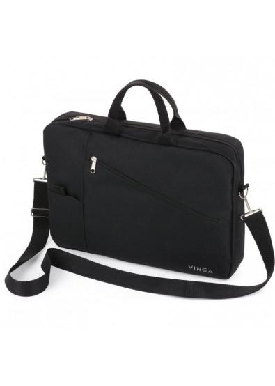 66ebefd4003a Сумка для ноутбука Vinga 17'' NB320BK Black купить по низкой цене в ...