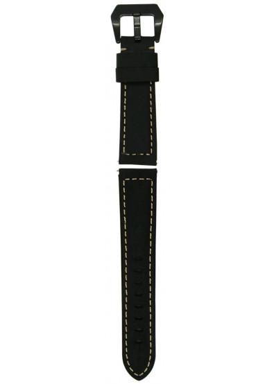 Фото - Ремешок для смарт-часов Molife GearS3 Classic Leather Band Black 22mm
