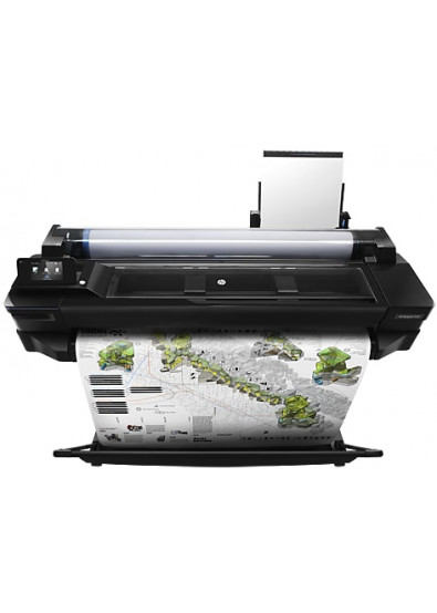 Фото - Принтер для цветной печати HP DesignJet T520 36'' с Wi-Fi (CQ893C)