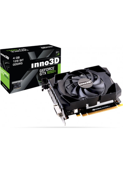 ... Фото - Видеокарта Inno3D nVidia GeForce GTX 1050 Ti Compact 4GB GDDR5  128Bit (N105T- ef255801454e5