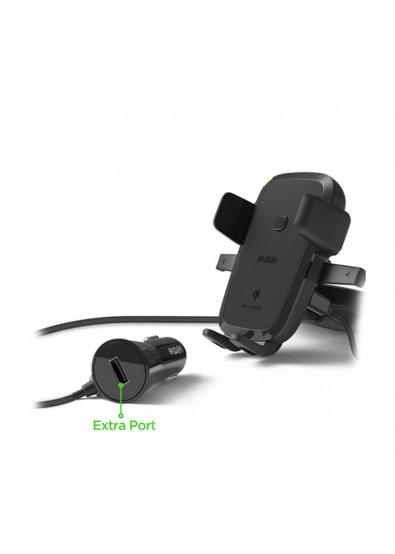 Фото - Держатель для мобильного устройства IOTTIE One Touch 4 Wireless Qi Charging CD Mount (HLCRIO136AM)