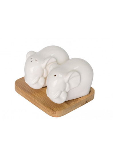 Фото - Емкость для специй Krauff 21-275-014 ''Слоны''