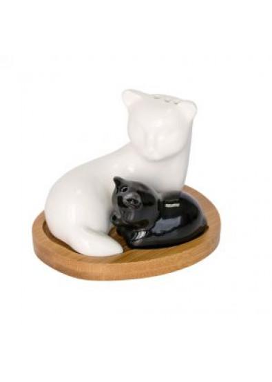 Фото - Емкость для специй Krauff 21-275-015 ''Кошка и котенок''