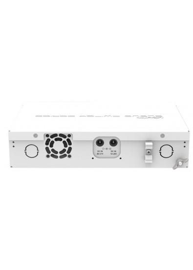 Фото - Коммутатор локальной сети (Switch) MikroTik CRS112-8P-4S-IN