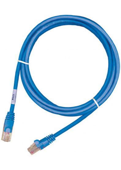 Фото - Кабель патч-корд Molex UTP 5e RJ45, LSZH 0.5m Blue (PCD-01000-0H)