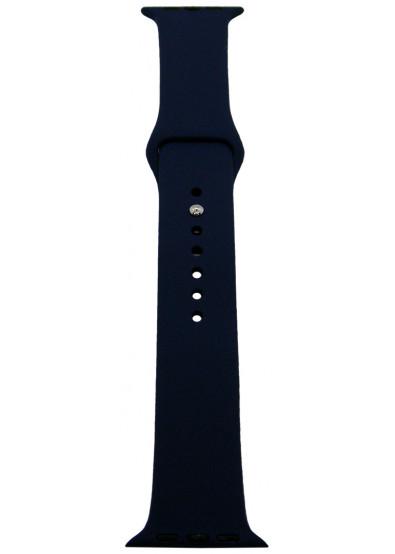 Фото - Ремешок для смарт-часов Molife Apple Watch Silicone Sport Band Midnight Blue 42mm