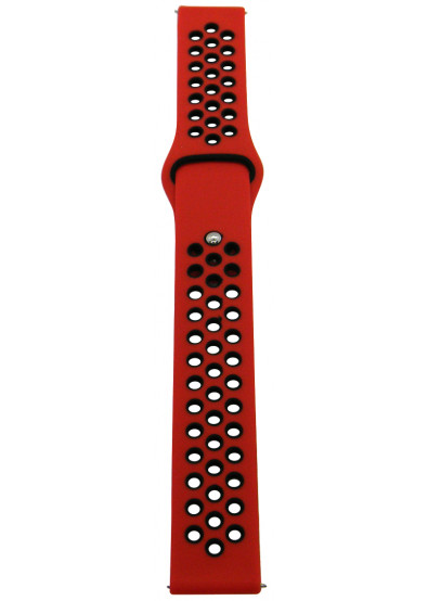 Фото - Ремешок для смарт-часов Molife GearSport Silicone Nike Sport Band Red/Black 20mm