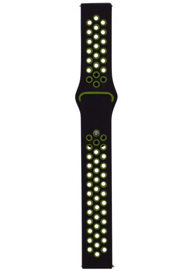 Фото - Ремешок для смарт-часов Molife GearSport Silicone Nike Sport Band Violet/Green 20mm