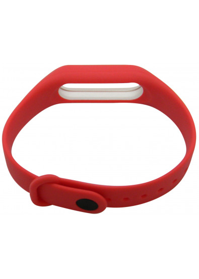 Фото - Ремешок для фитнес-браслета Molife MiBand2 Silicone Sport 4 Red/White