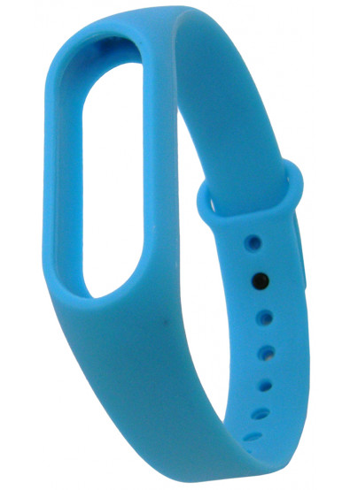 Фото - Ремешок для фитнес-браслета Molife MiBand2 Silicone Sport Blue