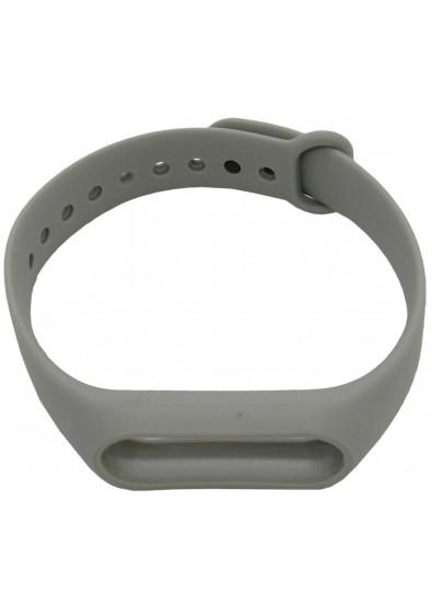 Фото - Ремешок для фитнес-браслета Molife MiBand2 Silicone Sport Grey
