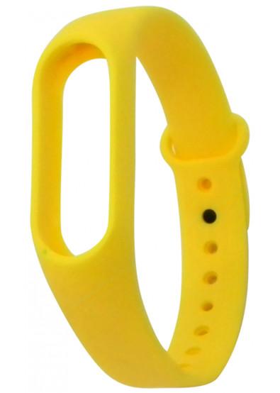 Фото - Ремешок для фитнес-браслета Molife MiBand2 Silicone Sport Yellow