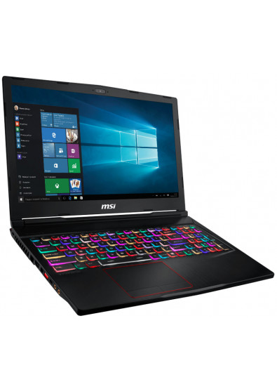 Фото - Ноутбук игровой MSI GE63RGB 8RE Raider (GE63RGB8RE-276UA) Black