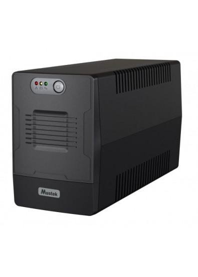 Фото - Источник бесперебойного питания Mustek PowerMust 1500 LI 1 500VA/900W USB (1500-LED-LI-T10)