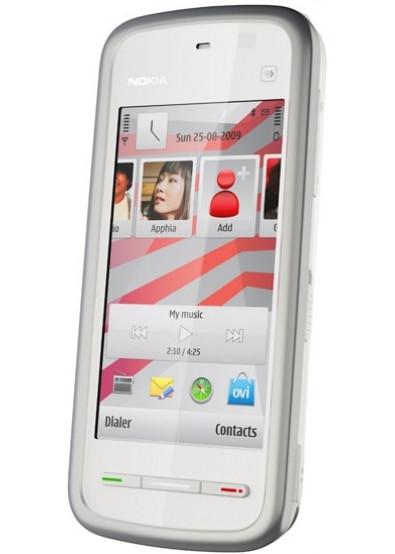 Фото - Смартфон Nokia 5230 white silver