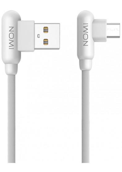Фото - Кабель Nomi DCAQ 10m USB-MicroUSB 1m White (344276)