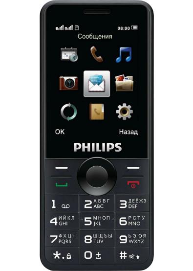 f7ee08955581 Мобильный телефон Philips E168 Xenium Black купить по низкой цене в ...