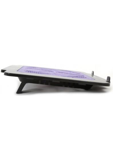 Фото - Подставка под ноутбук Omega Laptop Cooler Pad BREEZE Purple fan USB (OMNCPK16PU)
