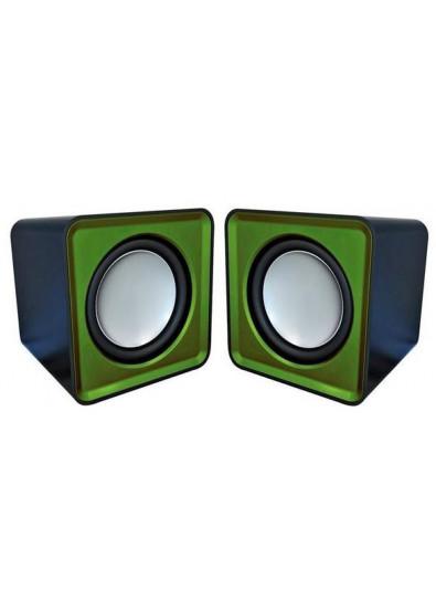 Фото - Компьютерная акустика обычная 2.0 Omega OG-01 Surveyor Green USB
