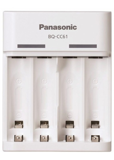Фото - З/устройство для аккумуляторов AA/AAA Panasonic Basic USB Charger (BQ-CC61USB)