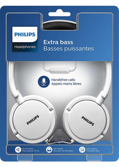 Фото - Наушники накладные проводные Philips SHL5005WT/00 White