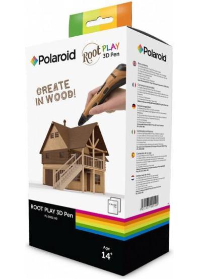 Фото - 3D-ручка Polaroid Root Play Wood (PL-2002-00)