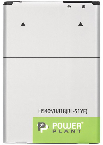 Фото - Аккумулятор для мобильного телефона PowerPlant LG H540F/H818 3.85V 3000mAh (SM160129)