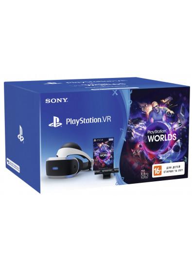 Фото - Очки виртуальной реальности Sony PlayStation VR (Camera +VR Worlds)  ... ce87b364b2f49