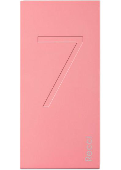 Фото - Батарея мобильная RECCI Seven 7000 mAh Pink