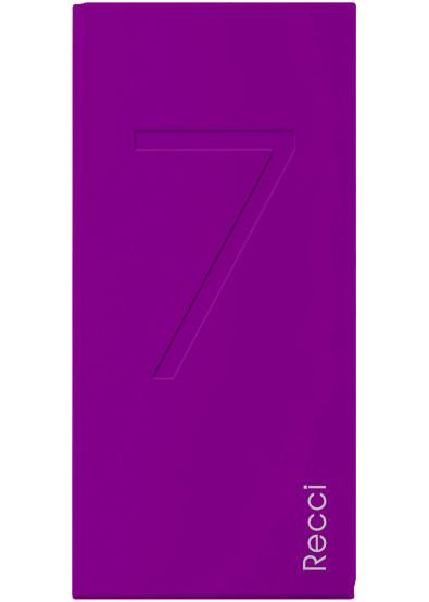 Фото - Батарея мобильная RECCI Seven 7000 mAh Purple