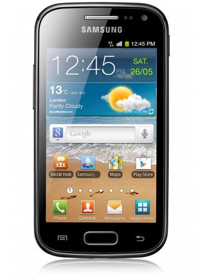 Фото - Смартфон Samsung I 8160 Galaxy Ace II Onyx Black