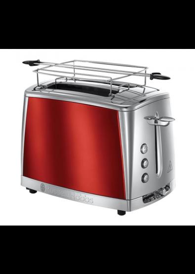 44a54fe10 Тостер Russell Hobbs 23220-56 Luna Solar Red купить по низкой цене в ...