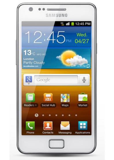 Фото - Смартфон Samsung I 9100 Galaxy S II Ceramic White