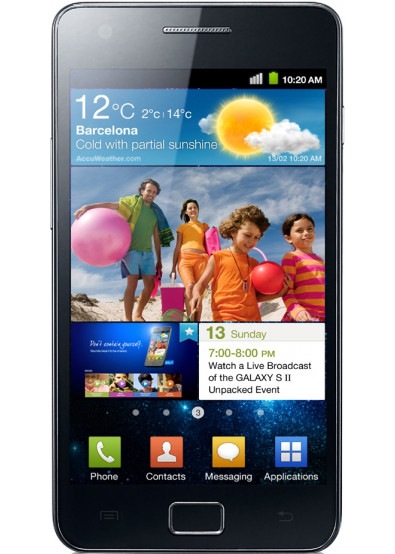 Фото - Смартфон Samsung I 9100 Galaxy S II Noble Black