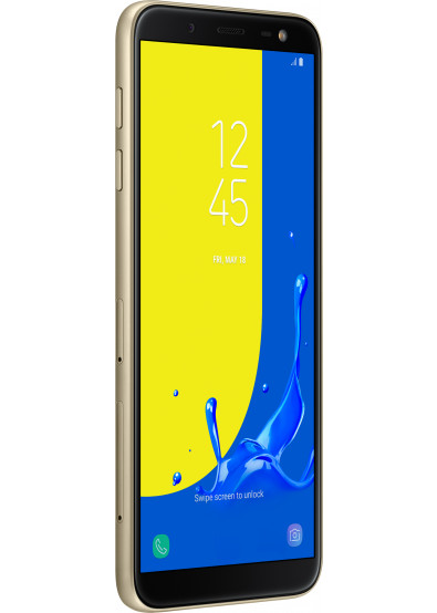 Фото - Смартфон Samsung J600 Galaxy J6 Gold