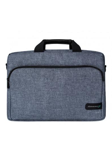 437034a8f99b Сумка для ноутбука Grand-X SB-139J 15.6'' Grey купить по низкой цене ...