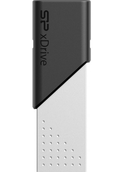 Фото - Флеш USB/Lightning Silicon Power Z50 128GB USB 3.1/Lightning Silver (SP128GBLU3Z50V1S)