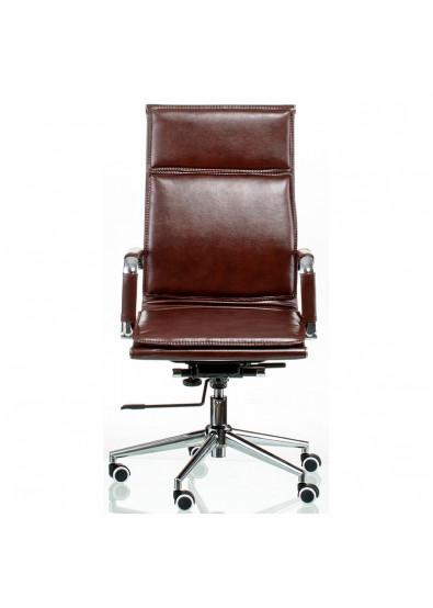 Фото - Кресло офисное Special4You Solano 4 artleather brown (E5227)