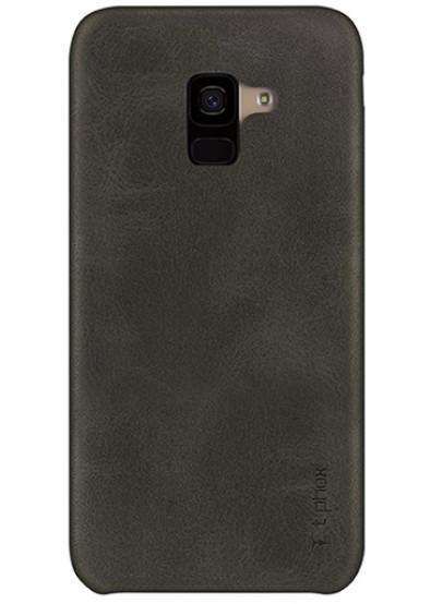 Фото - Чехол для смартфона T-phox Vintage for Samsung A8+ 2018/A730 Brown
